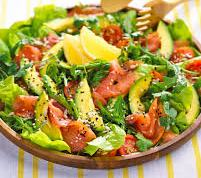 avocado and rocket salad