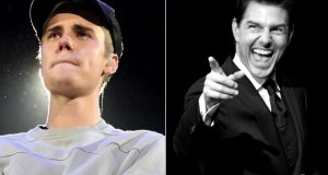 Justin Bieber and Tom Cruise fight