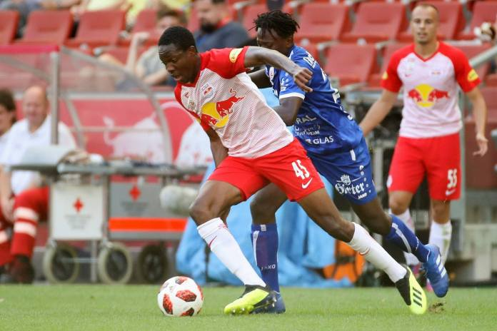 Mwepu, Patson feature in RB Salzburg's game against Real Madrid