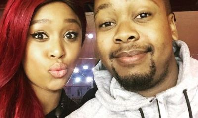 Minnie Dlamini and brother Khosini Dlamini