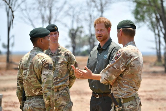 Prince Harry pays tribute to an anti-poaching hero in Malawi