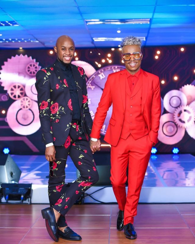 Somizi and Mohale