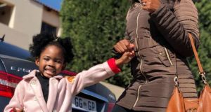 Ann Malinga and her daughter Zanokuhle