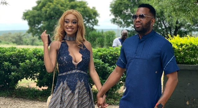 Itumeleng Khune sends his wife a Sweet Birthday Message