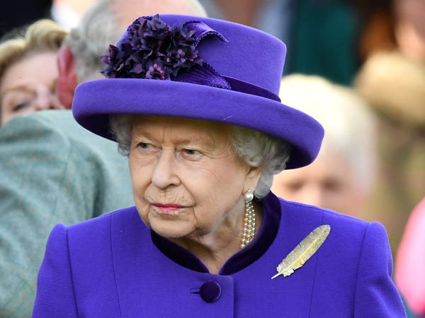 Queen Elizabeth issues first solo statement since the death of husband