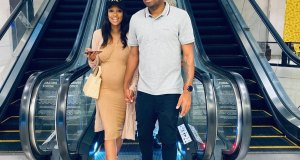 Itumeleng Khune and his wife Sphelele