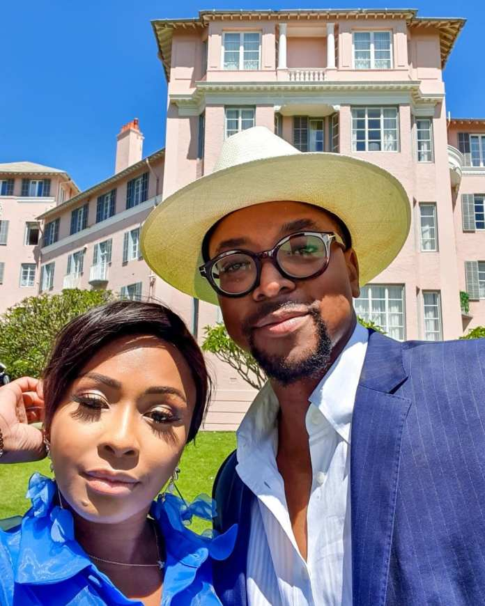 Are they Dating? These Pictures of Boity & Maps Maponyane leave Twitter hanging