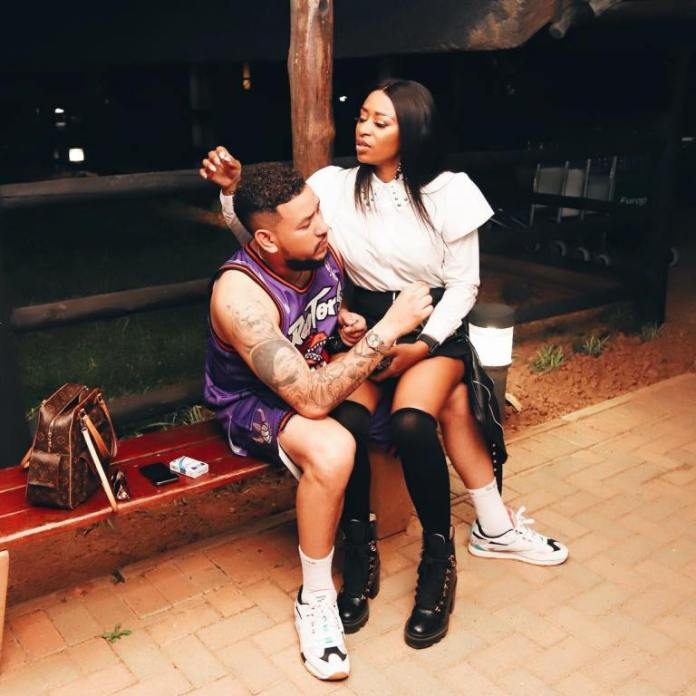 AKA reacts to police investigating DJ Zinhle