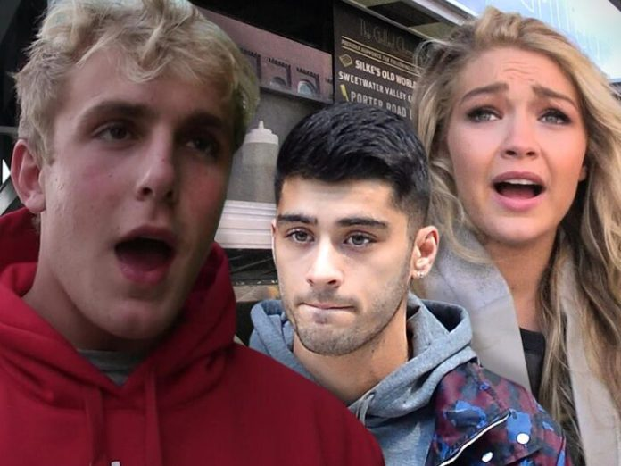 Gigi Hadid – Jake Paul, You are an irrelevant ugly A$$