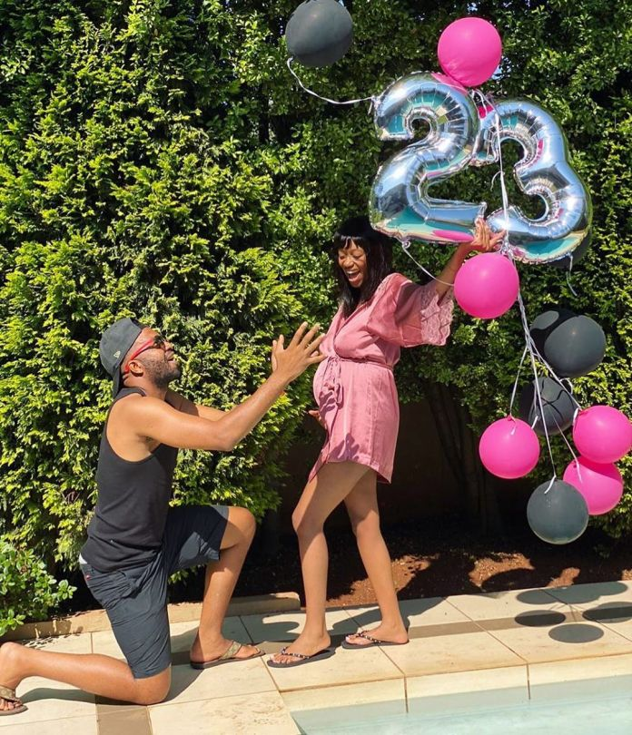 Its a Girl – Itumeleng Khune & wife Sphelele welcome their Baby