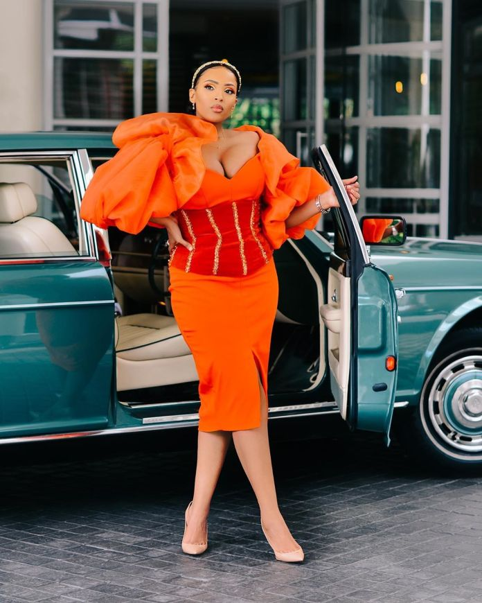 Twitter in love with Linda Mtoba's outfit at the #VCPoloSeries