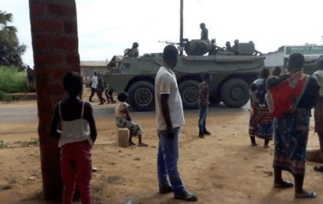 Protests in Zambia over Gassing