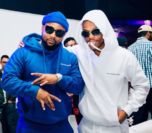 Somizi and Cassper Nyovest