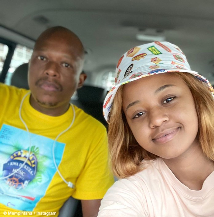 Mampintsha dragged for stealing Babes Wodumo's limelight