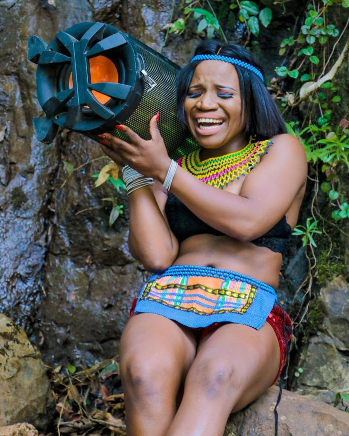 Makhadzi over the moon after a big blast in her Career