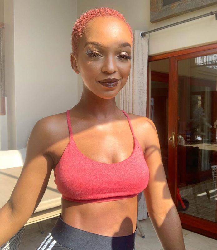 Nandi Madida proves her husband is not a liar