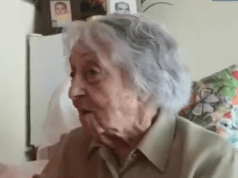 113 year old lady beats Corona in Spain