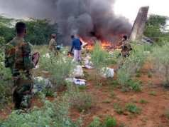 Kenyan aircraft shoot down resulting in 6 dead