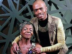 Somizi and Mary Twala