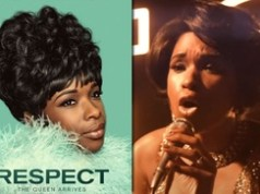Jennifer Hudson starring in an Aretha Franklin Biopic