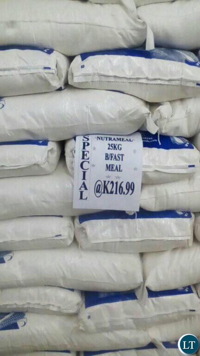 Expect a major drop in mealie meal price