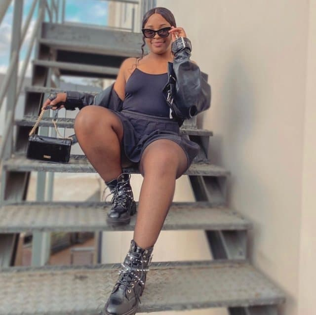 Today is leg Day – Cindy Makhathini