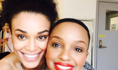 Pearl Thusi and Nandi Madida