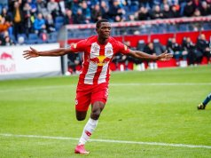 Patson Daka is being eyed by Manchester United