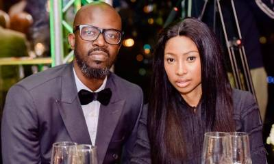 Enhle Mbali and Black Coffee