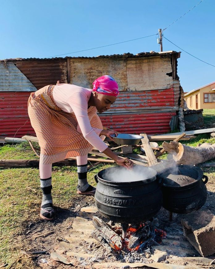 Miss Universe Zozibini Tunzi flaunts her cooking skills – Pictures