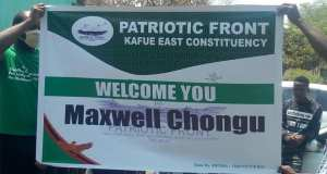Maxwell positions himself for Kafue Constituency