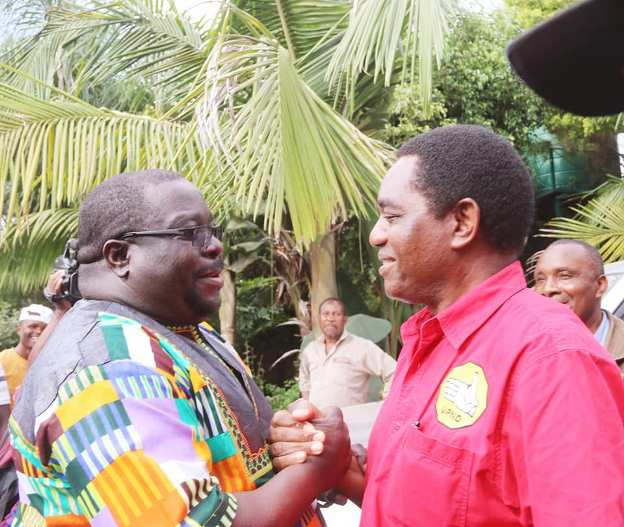 Chishimba Kambwili –  I am about to ignite a time bomb that will expose all secrets
