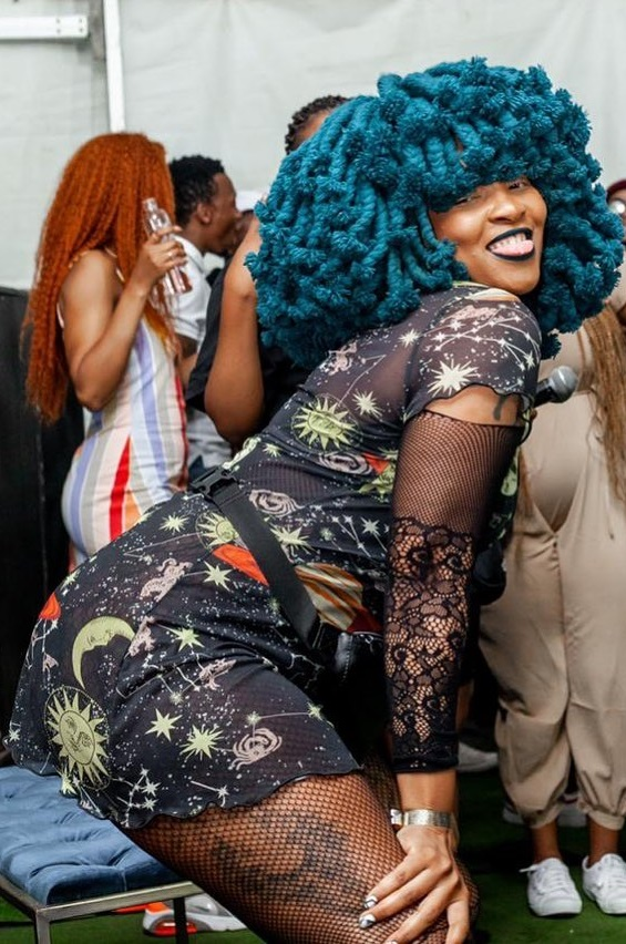 #JohnVuliGateChallenge – Moonchild Sanelly joins the dance: Video