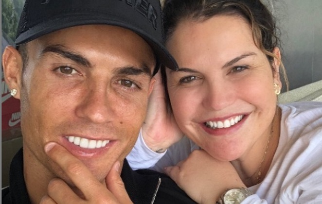 Ronaldo's sister Katia doesn't believe he tested positive for Covid-19