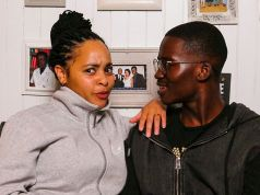 Stephanie Sandows and Hungani Ndlovu