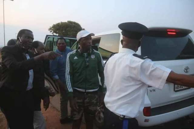 UPND special squard repels the PF attack with force