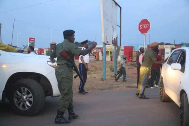 UPND special squard repels the PF attack with force1