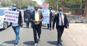 #bringbackourstolenassets march to State House