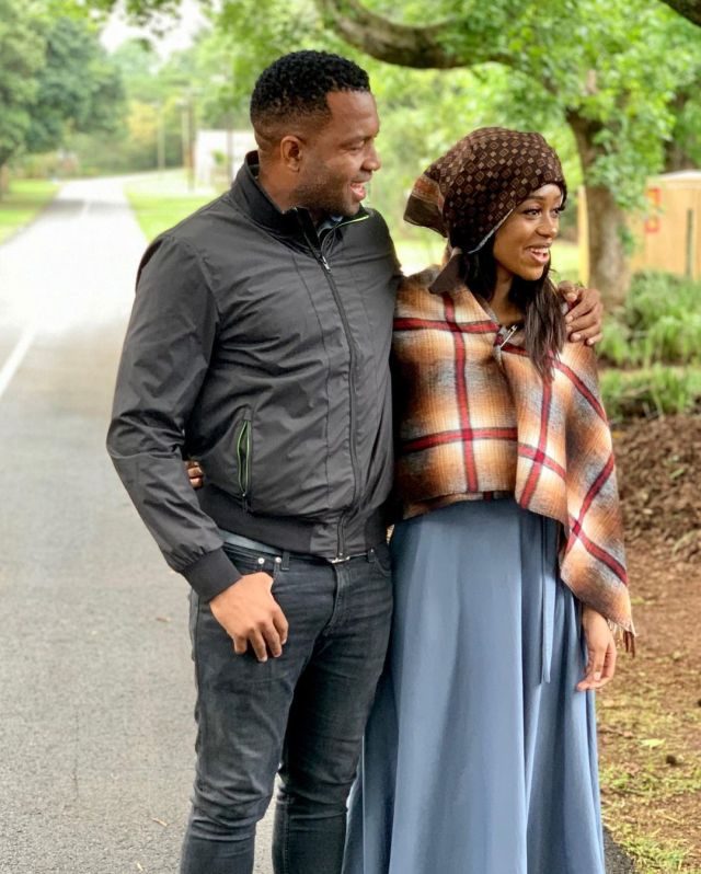 Itumeleng Khune & his wifey celebrate their anniversary