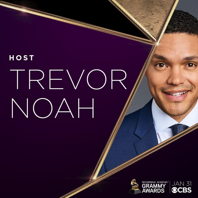 South African comedian Trevor Noah to host the 63rd GRAMMY Awards