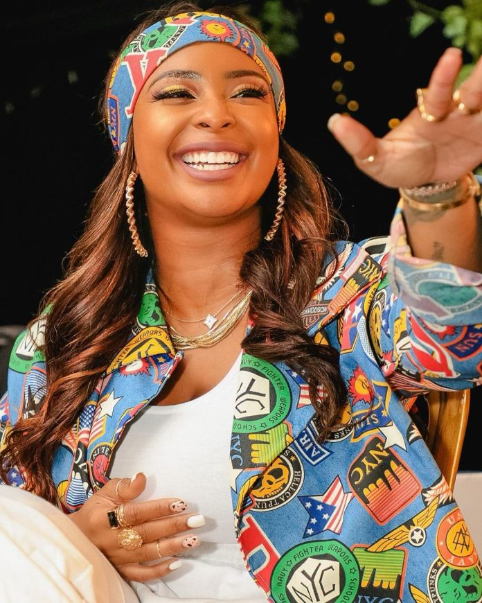 Boity donates R50K to support victims of gender-based violence