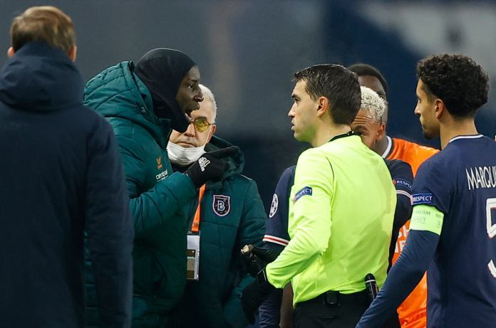 PSG vs Istanbul Basaksehir match to resume in the 14th minute