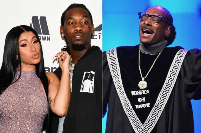 Offset Defends Cardi B after Snoop Dogg criticised Her WAP song