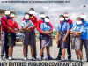 Grade 10 and 12 students from a Lusaka school enter unbreakable blood covenant