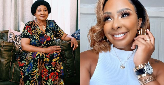 Boity Thulo pens a sweet message as she wishes her grandmother a happy birthday