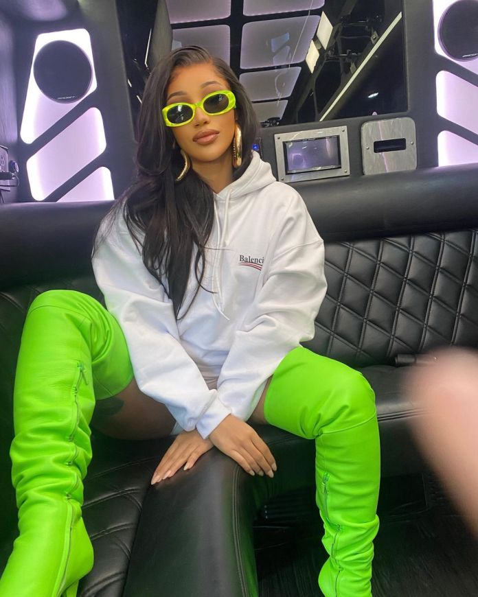 Cardi B drops new single UP with music video – Watch