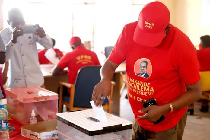 Losers In UPND Elections Allege Vote Rigging