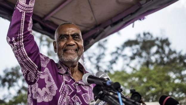Tanzania's first VP tests positive for Covid-19