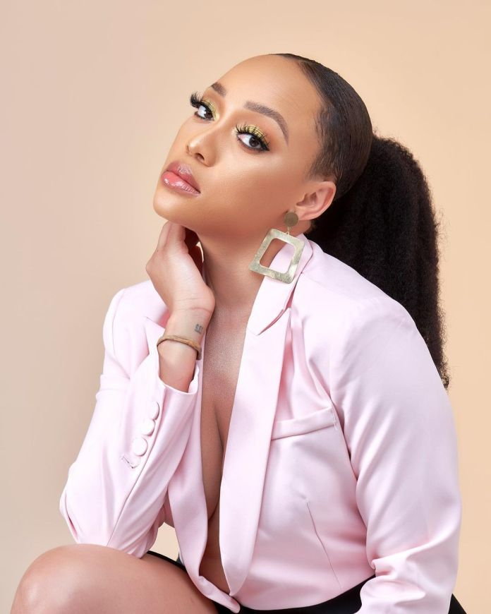 PICS: Thando Thabethe back together with her man