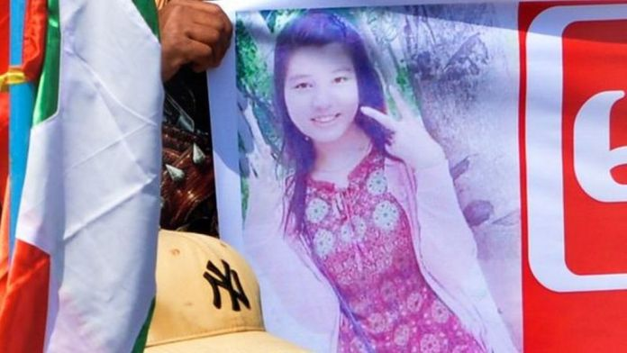 Woman shot during anti-coup protests in Myanmar dies